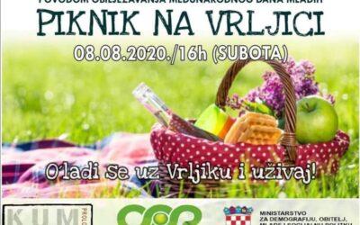 Piknik na Vrljici – vidimo se u subotu u 16 sati!