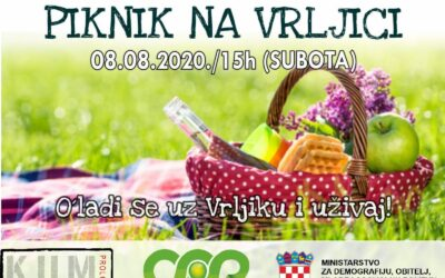 """""""Piknik na Vrljici"""" Vidimo se u subotu!"""