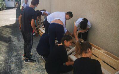 HRVATSKA VOLONTIRA (G)radimo učionicu u prirodi