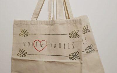 """POZIV VOLONTERIMA Volonterska akcija podjele platnenih vrećica """"Mijenjam navike, mijenjam svijet"""""""