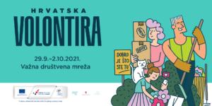 Nacionalna kampanja Hrvatska volontira 2021.